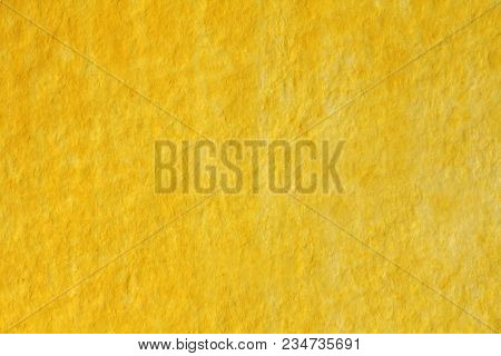Yellow And Gold Watercolor Background. Paper Background. Background For Decoration And Your Design.