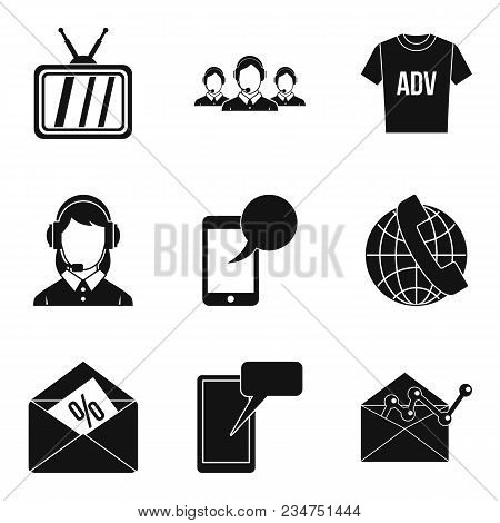 Trading Hall Icons Set. Simple Set Of 9 Trading Hall Vector Icons For Web Isolated On White Backgrou
