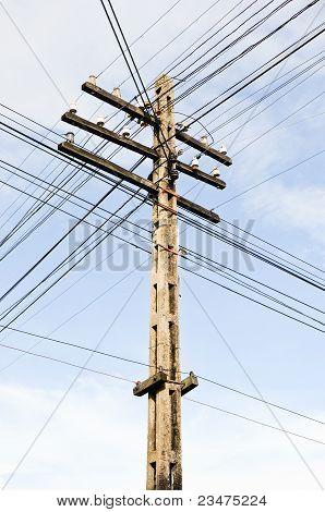 The Complex Of Telegraph Pole