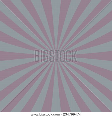 Abstract Retro Circus Ray Burst Background - Vector Graphics
