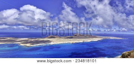 Volcanic Island La Graciosa - Lanzarote, Canary Islands, Spain