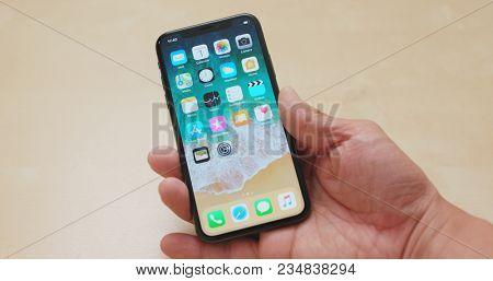 Hong Kong, Hong Kong, 01 March 2018:- Switching on IphoneX
