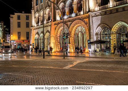 Europe, Landmark, Lisbon, Portugal,  Station, Travel, Architecture, Building, City, Facade, Portugue