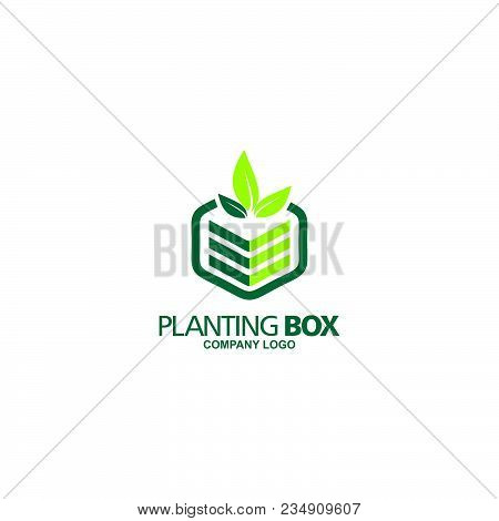 Planting Box Company Logo  The name Being Changed, Suitable for your Logo Bussines, Prodect, company, and etc.