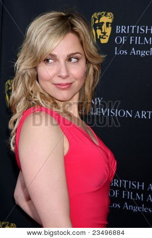 LOS ANGELES - SEP 17:  Cara Buono arrives at the 9th Annual BAFTA Los Angeles TV Tea Party. at L'Ermitage Beverly Hills Hotel on September 17, 2011 in Beverly Hills, CA