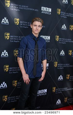 LOS ANGELES - SEP 17:  Callan McAuliffe arrives at the 9th Annual BAFTA Los Angeles TV Tea Party. at L'Ermitage Beverly Hills Hotel on September 17, 2011 in Beverly Hills, CA