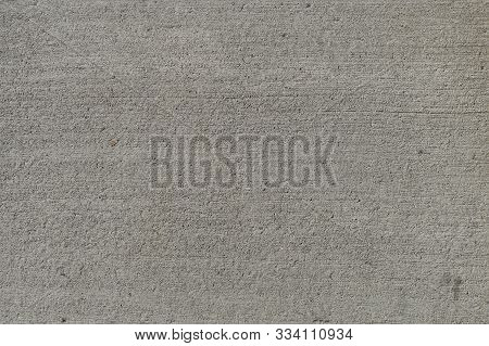 Gray Concrete Wall, Texture Can Be Used For Interior Design. Texture Rough Plaster Background Abstra