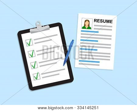 Resumes. Cv Curriculum Vitae Application. Selecting Staff. Resume Template For Web Landing Page, Ban