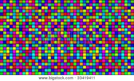 Multi Colored Glass Squares Background