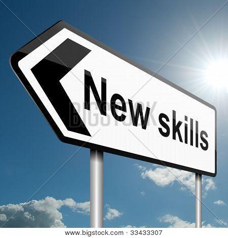 Nuevo concepto de habilidades.