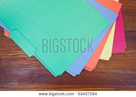 Colorful Folders