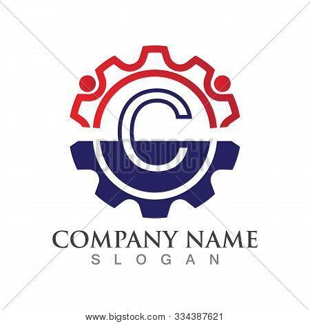 C Letter Logo Or Symbol Creative Template Design