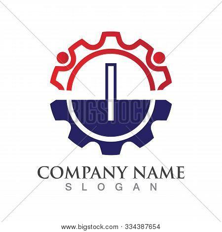 I Letter Logo Or Symbol Creative Template Design