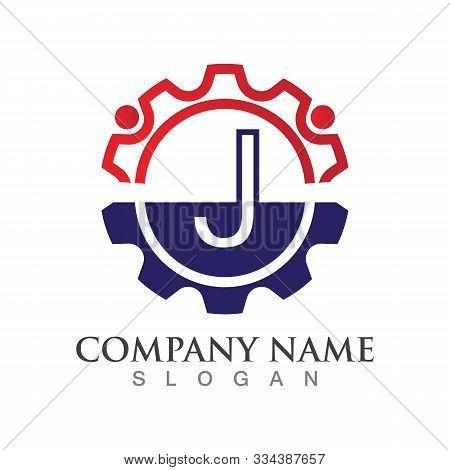 J Letter Logo Or Symbol Creative Template Design