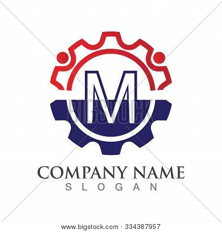 M Letter Logo Or Symbol Creative Template Design
