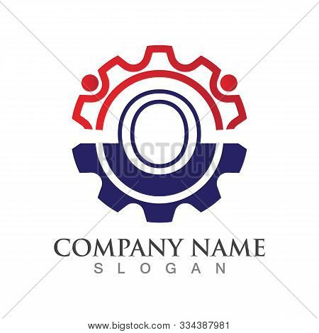 O Letter Logo Or Symbol Creative Template Design