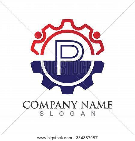P Letter Logo Or Symbol Creative Template Design