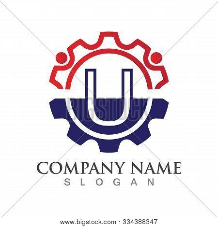 U Letter Logo Or Symbol Creative Template Design