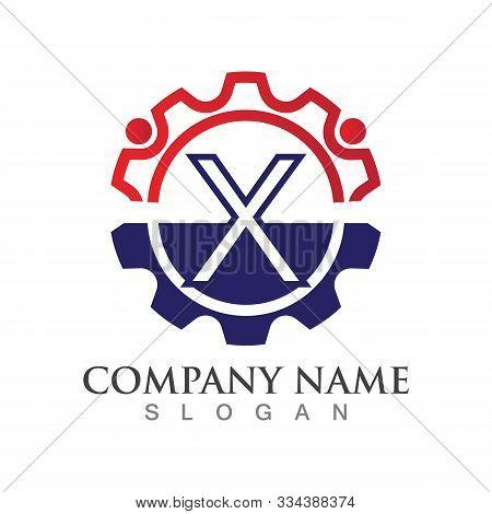X Letter Logo Or Symbol Creative Template Design
