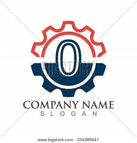 Number 0  Logo Or Symbol Creative Template Design