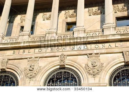 National Library, Madrid