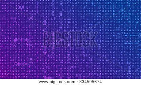 Binary Code Background. Digital Binary Data And Streaming Digital Code Background. Abstract Futurist