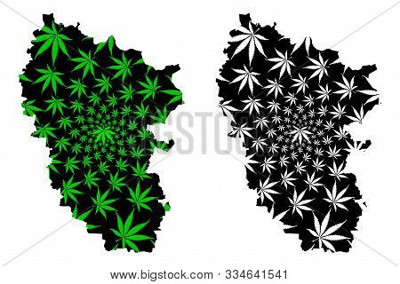 Luhansk Oblast (administrative Divisions Of Ukraine, Oblasts Of Ukraine) Map Is Designed Cannabis Le