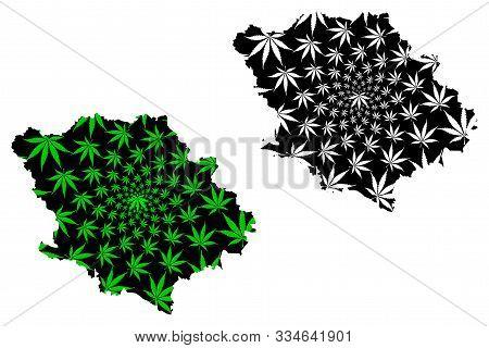 Poltava Oblast (administrative Divisions Of Ukraine, Oblasts Of Ukraine) Map Is Designed Cannabis Le