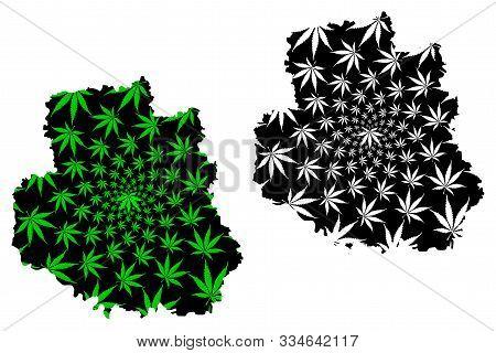 Vinnytsia Oblast (administrative Divisions Of Ukraine, Oblasts Of Ukraine) Map Is Designed Cannabis