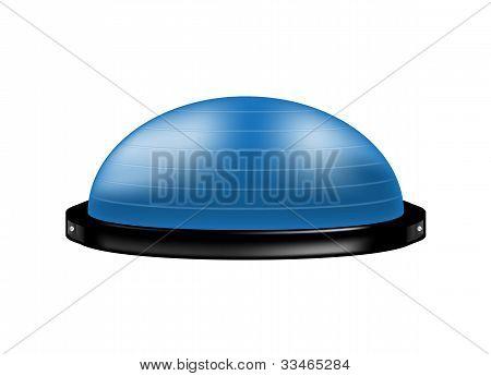 Bosu ball (modern gym ball)
