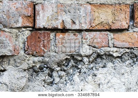 Brick Old Wall Background. Brick Texture. Pattern Saver
