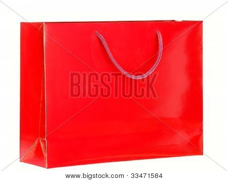 Red Shopping Bag.