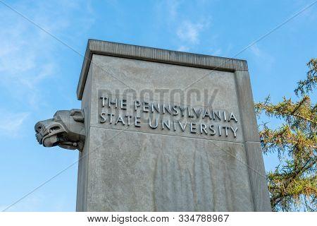At Penn State University
