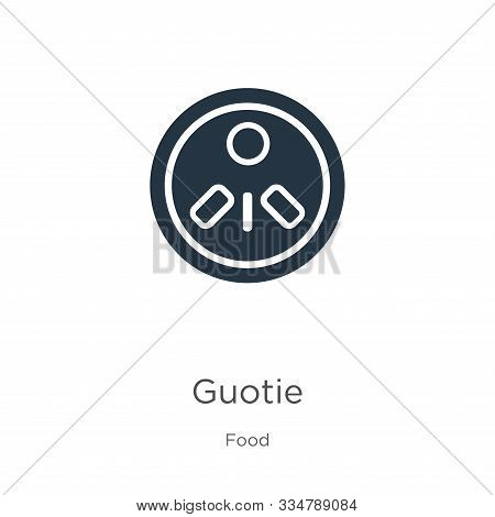 Guotie Icon Vector. Trendy Flat Guotie Icon From Food Collection Isolated On White Background. Vecto