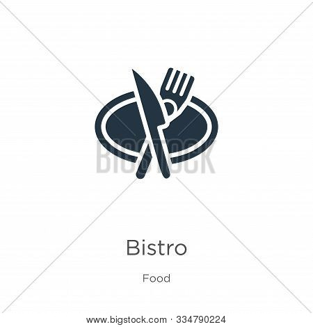 Bistro Icon Vector. Trendy Flat Bistro Icon From Food Collection Isolated On White Background. Vecto