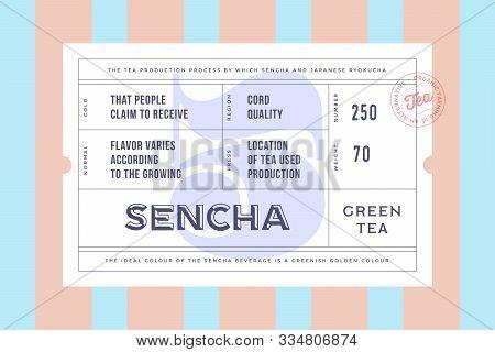 Vintage Minimal Label. Set Of Graphic Modern Vintage Label