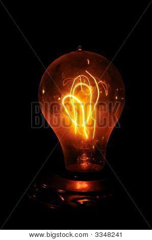 Amber Edison Bulb