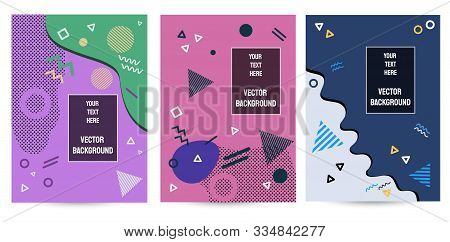 Set Backgrounds. Background Of Gradient Smooth Background Texture On Elegant Rich Luxury Background Web Template Or Website Abstract Background Gradient Or Textured Background  Paper. Vector background EPS10. Abstract polygonal background with line patter