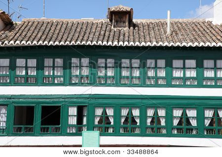Historic Building On Plaza Mayor - Almagro Spain