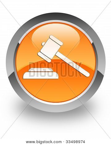 Justice glossy icon