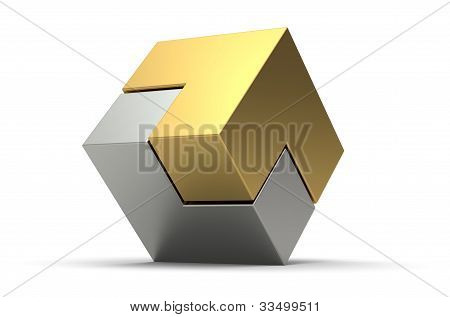 3D Abstract Puzzle