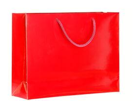 Red Shopping Bag.