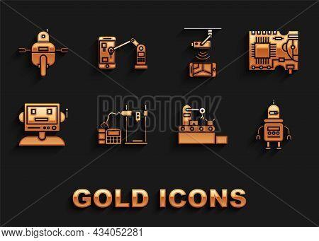 Set 3d Printer, Printed Circuit Board Pcb, Robot, Factory Conveyor System Belt, Wireless Controlling