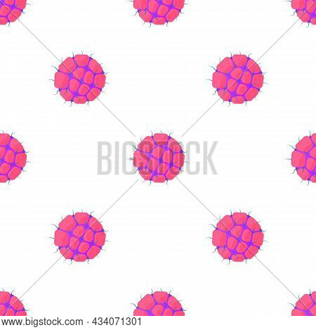 Ovary Pattern Seamless Background Texture Repeat Wallpaper Geometric Vector