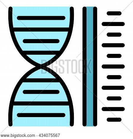 Allergy Analysis Icon. Outline Allergy Analysis Vector Icon Color Flat Isolated