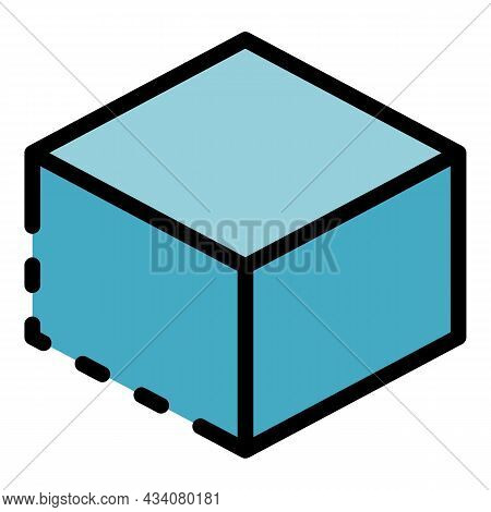 Redesign Object Icon. Outline Redesign Object Vector Icon Color Flat Isolated