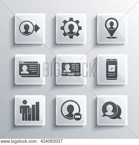 Set Create Account Screen, Speech Bubble Chat, Smartphone, Laptop With Resume, Productive Human, Res