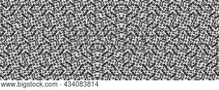 Pixel Vector Background. Pattern For Decorative Design. Graphic Vector