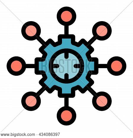 Adaptive Changes Icon. Outline Adaptive Changes Vector Icon Color Flat Isolated