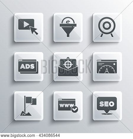 Set Website Template, Seo Optimization, Statistic, Mail And E-mail, Location Marker, Advertising, An